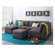 Grey Velvet Sectional Sofa by Furniture Grey Velvet Sectional Sofa With Chaise Using Steel Legs