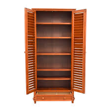 39 off tall louvered door cabinet storage