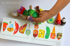 the very hungry caterpillar storytelling basket the imagination tree