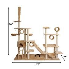 Cat Furniture by Oxgord Premium Cat Tree Tower Condos Tanga