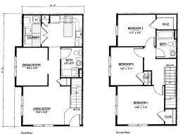 two story floor plans small 2 story 3 bedroom house plans home deco plans