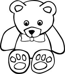 coloring pages teddy bear coloring pictures free teddy bear