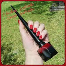 christian louboutin rouge louboutin swatches review and