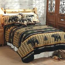 Rustic Comforter Sets Pinecone Bedding Rustic Quilt Bedding Sets Country Lodge Quilt