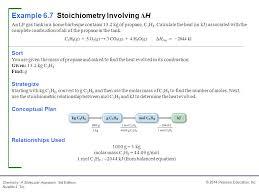 1 mol c3h8 2044 kj from balanced equation