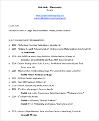 freelance photographer resume pdf 7 photographer resume templates