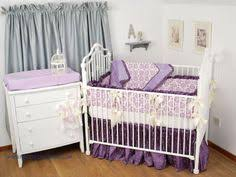 Lavender And Grey Crib Bedding Pink And Grey Crib Bedding With Coordinating Window Valance Throw