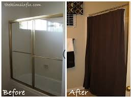The Shower Door Replace Shower Door With Curtain Free Home Decor