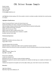 Resume Samples Truck Driver by Long Haul Truck Driver Resume Resume For Your Job Application