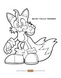 coloring download tails the fox coloring pages tails the fox