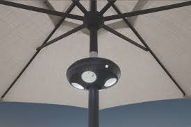 Patio Umbrellas With Led Lights Patio Umbrella Lights Led Outdoor Umbrella Lighting