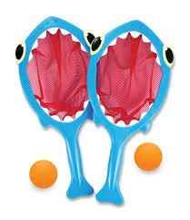 amazon com melissa u0026 doug sunny patch spark shark toss and catch