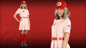Rockford Peach Halloween Costume Women U0027s League Dottie Costume