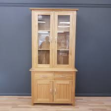 solid oak china cabinet clearance naples solid oak display cabinet instant furniture