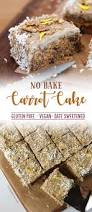 no bake carrot cake with cashew cream frosting u2013 yes glutenfree