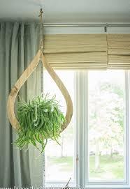 mid century modern diy hanging planter hometalk