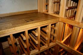 Wine Cellar Shelves - furniture custom wine cellar racks with wooden wine cellars and