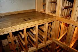 furniture custom wine cellar racks with wooden wine cellars and