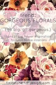 Floral Interiors Grandma Is Back Floral Design Large Flowers Floral Interiors