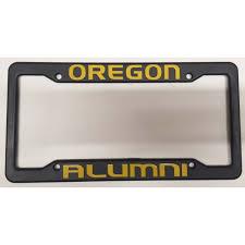 michigan state alumni license plate frame of oregon black plastic license plate frame oregon alumni