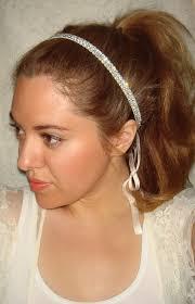 rhinestone headbands rhinestone headband bridal headband weddings