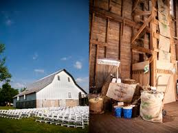 Wedding Barns In Missouri Vintage Barn Wedding Ruffled