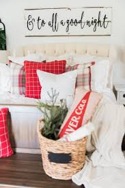 Home Goods Christmas Decorations Our Plaid Christmas Bedroom 2016 Plaid Bedding Christmas