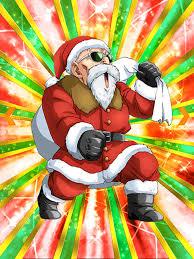 thrilling christmas eve master roshi santa dragon ball z