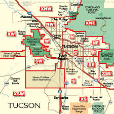 az city map tucson arizona city map tucson arizona mappery