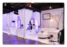 wedding expo backdrop bridal show by invitation only event planning design