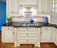 White Kitchen Black Countertop - the backsplash with white cabinets furniture home design and