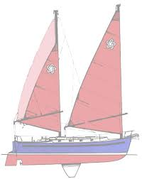 junk rigged sailboats adventures with meps u0027n u0027 barry
