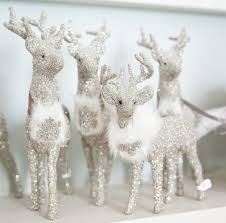 buy sherri s designs small deer with fur in silver at the garden gates