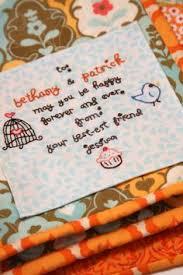 wedding quilt sayings quilt label via flickr quilt labels