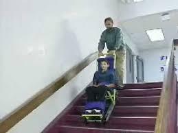 garaventa evacu trac emergency evacuation device chair youtube