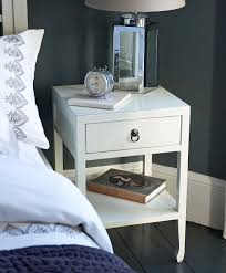 friendly atmosphere small white bedside table new interior ideas image of small white bedside table lamps