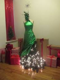 46 fashion inspired christmas trees made from dress forms u2014 style