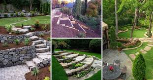 Backyard Ideas For Sloping Yards 22 Amazing Ideas To Plan A Slope Yard That You Should Not Miss