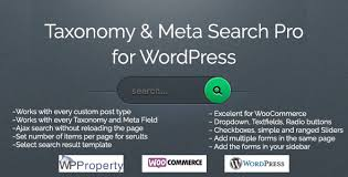taxonomy and meta search pro for wordpress by wp roots codecanyon
