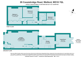 floor plan area calculator cassiobridge road watford james estate agents