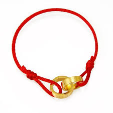 red links bracelet images Elegance stylish china red cord chain bracelets double jpg