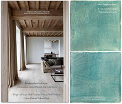 brushstrokes from japan a hand painted minimalist tile collection