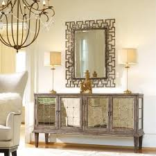 Mirrored Console Table Seldens Home Furnishings Hooker Furniture Melange Ramsay Hall