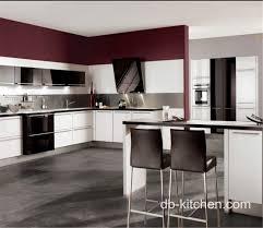 Laminate Kitchen Cabinet Laminate High Gloss White Petg Kitchen Cabinet Color Combination