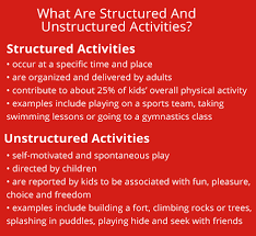 make time for play how to balance structured and unstructured