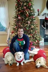 san jose sharks marc édouard vlasic with his dogs for