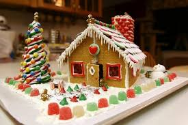 gingerbread house landscape decorations