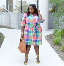5 stylish plus size shirtdresses to rock this summer stylish curves