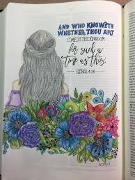 a bible journaling page to go with my current bible study of the