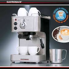 gastroback design espresso pro gastroback espresso and coffee cookfunky